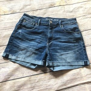Levi's High waist jean shorts size 30